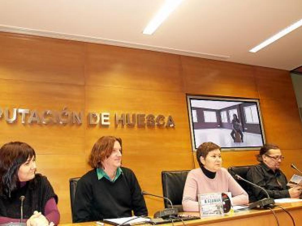 Presentación del disco 'Romper el muro' en la Diputación de Huesca