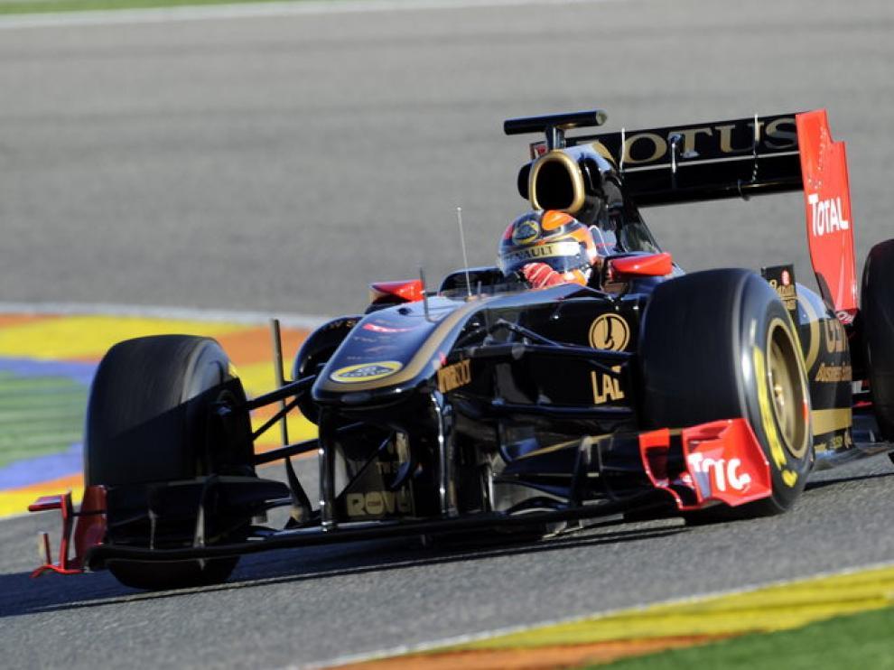 Robert Kubica rueda con su Renault en Cheste