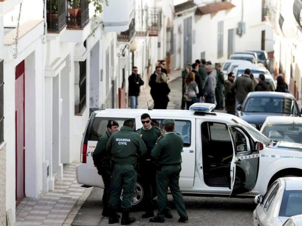 Registro de una vivienda tras la detención