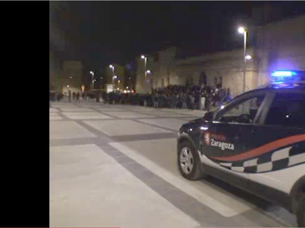 Vídeo de la segunda 'okupación' de la cárcel de Torrero