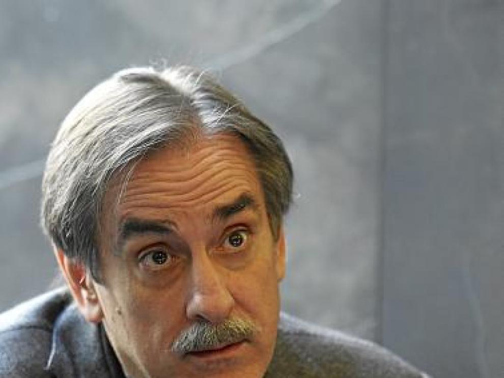 Imagen de archivo del ministro Valeriano Gómez en Zaragoza.
