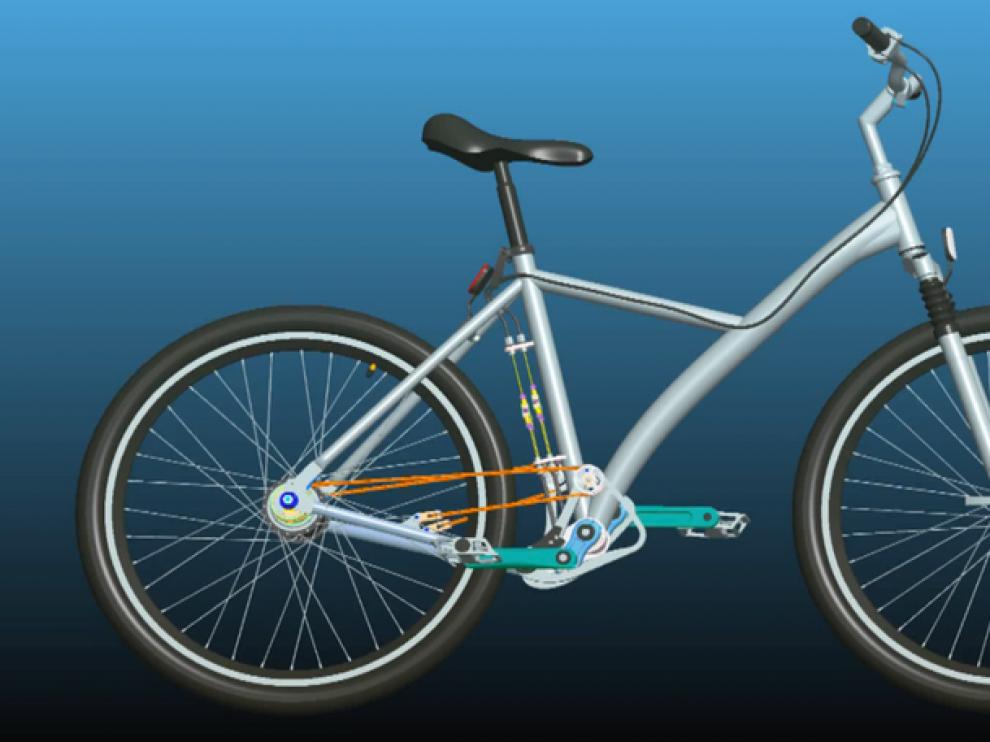 Prototipo de la Stringbike