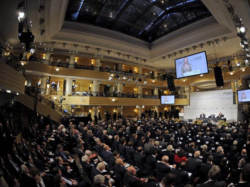 Hillary Clinton, en la conferencia de seguridad de Múnich