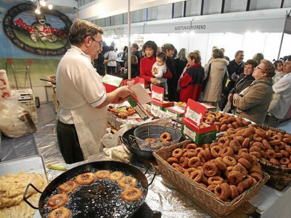 Uno de los puestos de alimentación artesana que participó en el certamen.