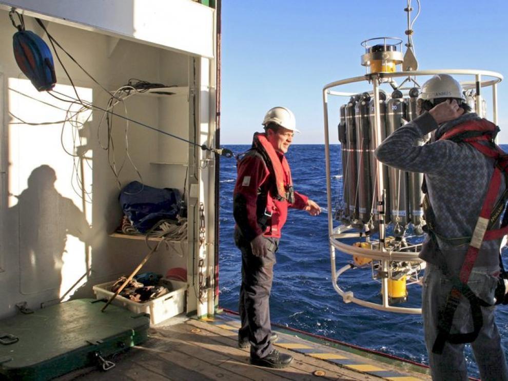 Robot para estudiar el Atlántico, en el Sarmiento Gamboa