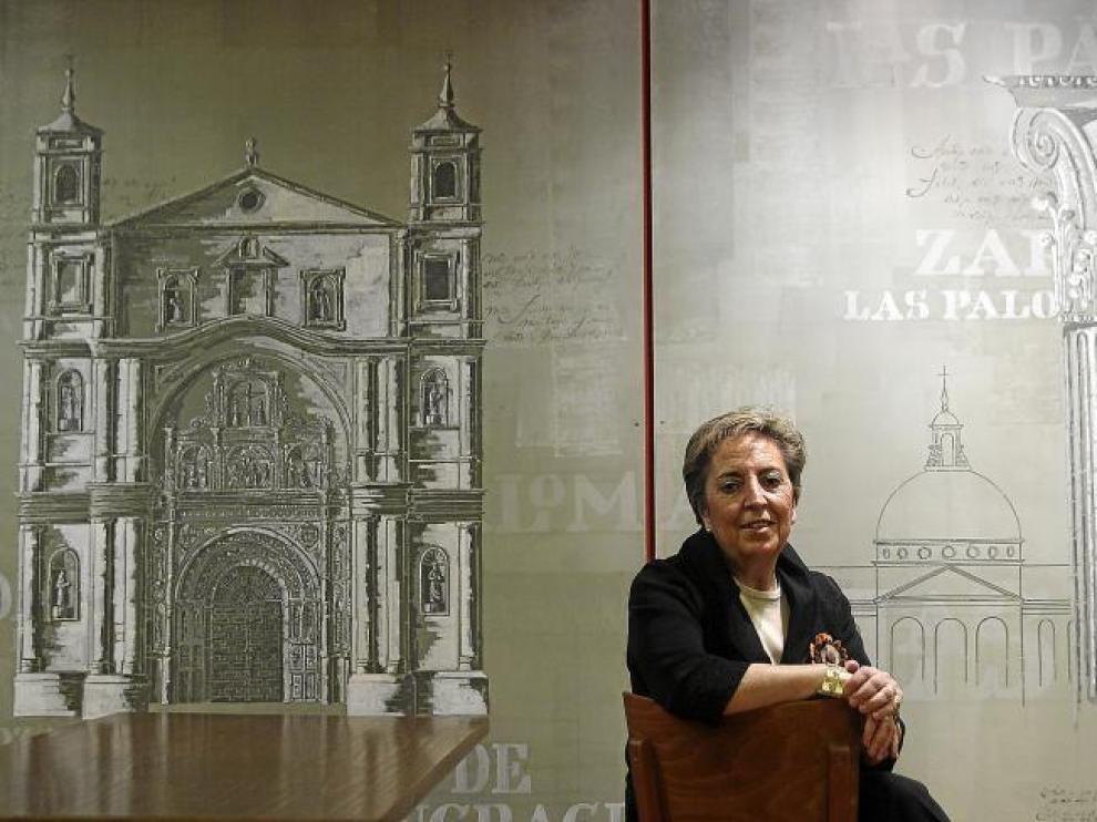 Pilar Fuertes, propietaria de la empresa oscense Geaster S.L., de la que depende Arsis