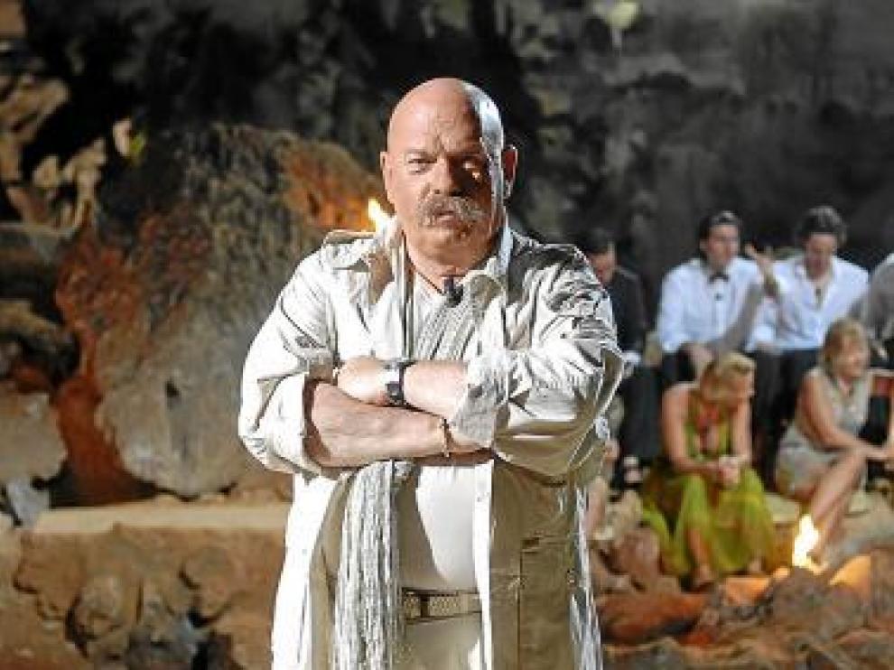 Íñigo, en su época de presentador de 'Supervivientes'.
