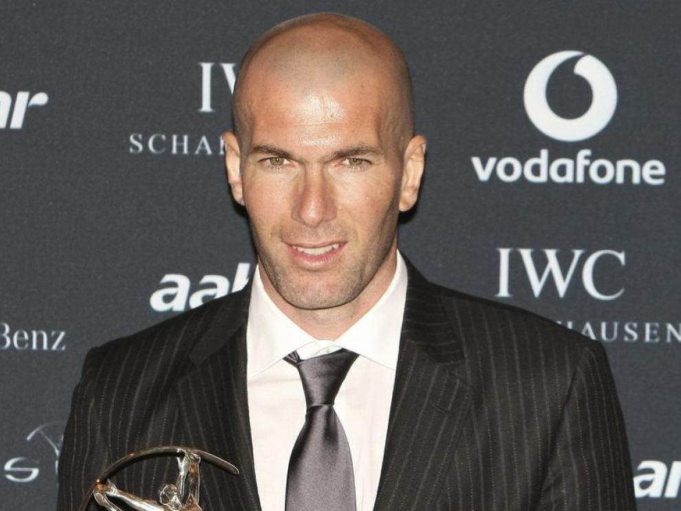 Zinedine Zidane ha sido premiado por su trayectoria