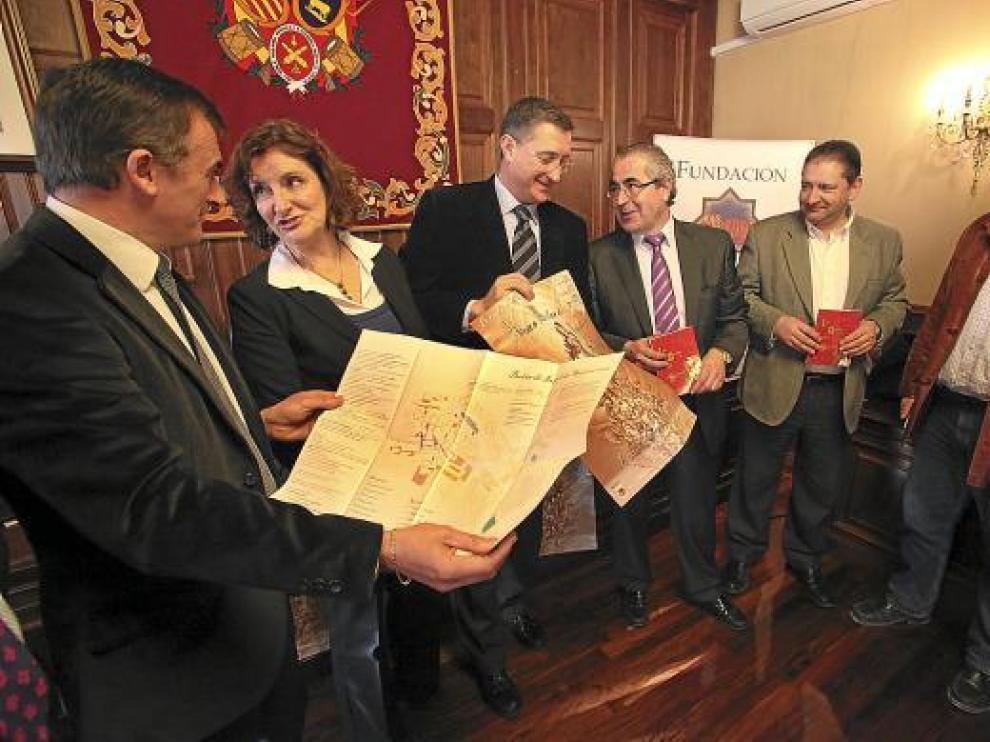 De izquierda a derecha Mor, Esteban, Blasco, Nalda, Guillén y Cruzado.