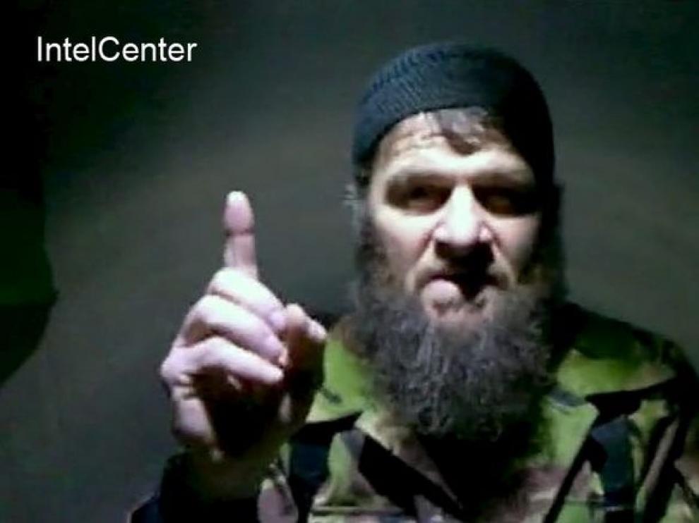Mensaje de Doku Umárov, considerado líder de la guerrilla islamista chechena