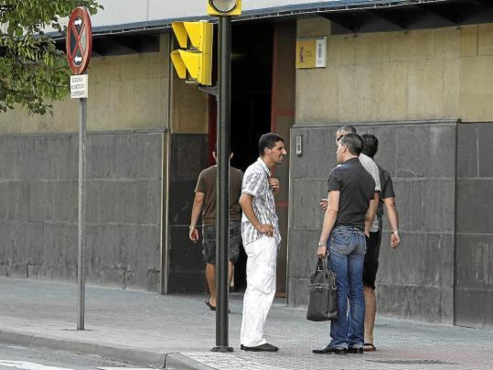 Algunos presuntos implicados en la Operación Isabel destapada en Zaragoza en 2010.