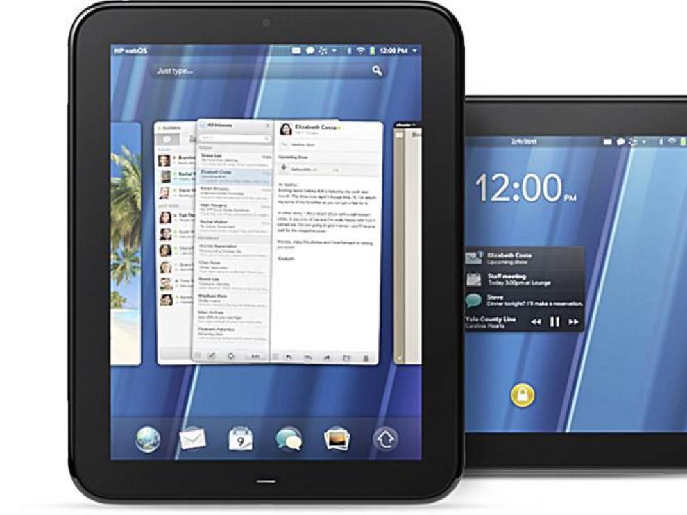 Touchpad fue el primer intento de HP con las tabletas.
