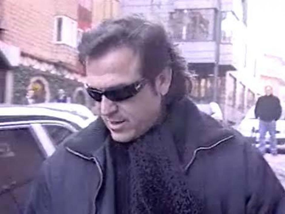 Una imagen del presentador emitida en Telecinco