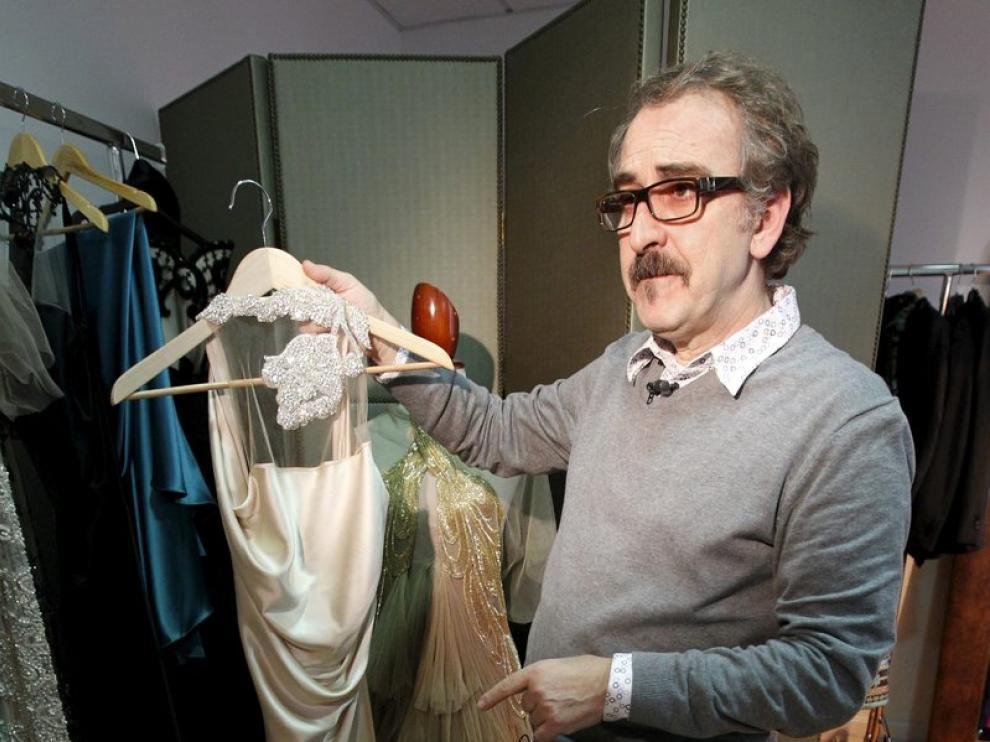 Vicente Ruiz, estilista de la gala de los Goya