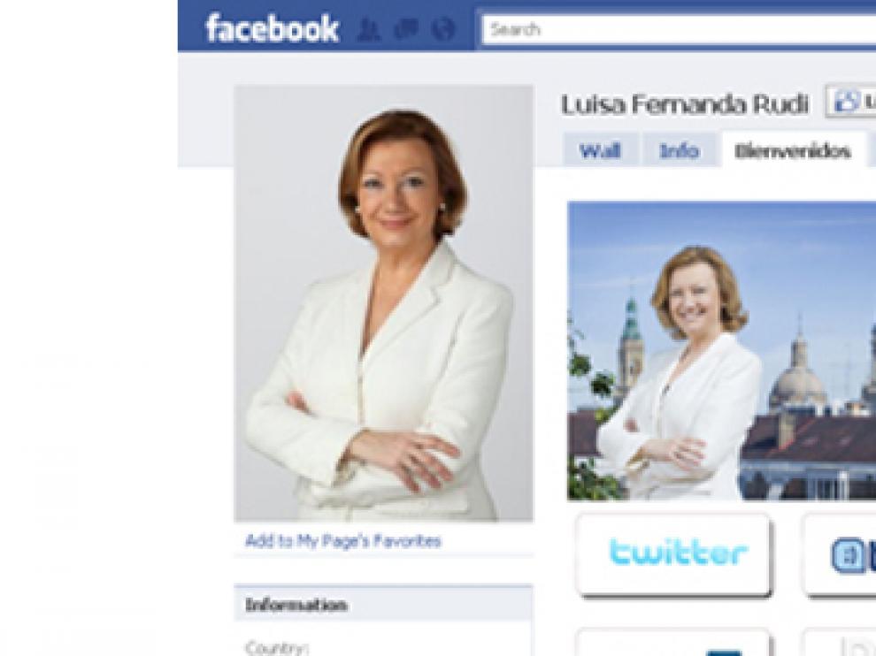 Facebook de Luisa Fernanda Rudi