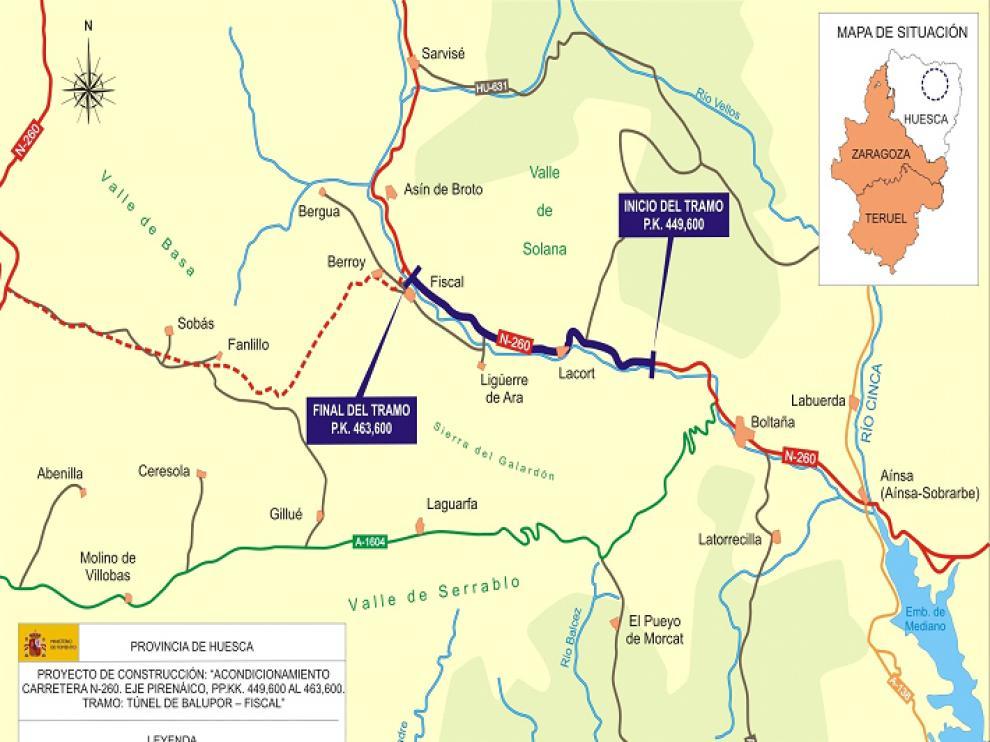 Mapa de situación del proyecto