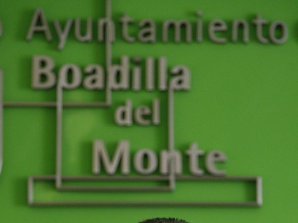 El alcalde de Boadilla del Monte, Juan Siguero