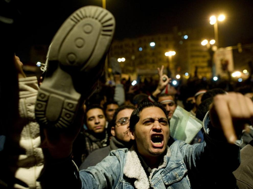 Mostrar la suela es un gesto de desprecio en el mundo árabe