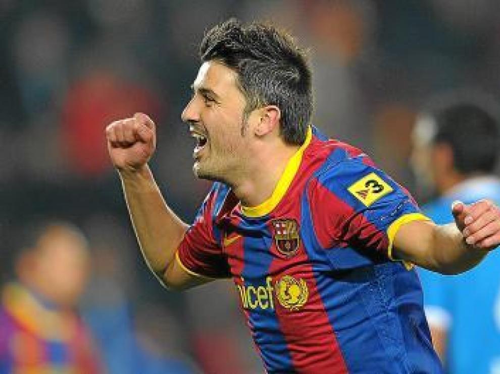 El asturiano David Villa regresa hoy a El Molinón.