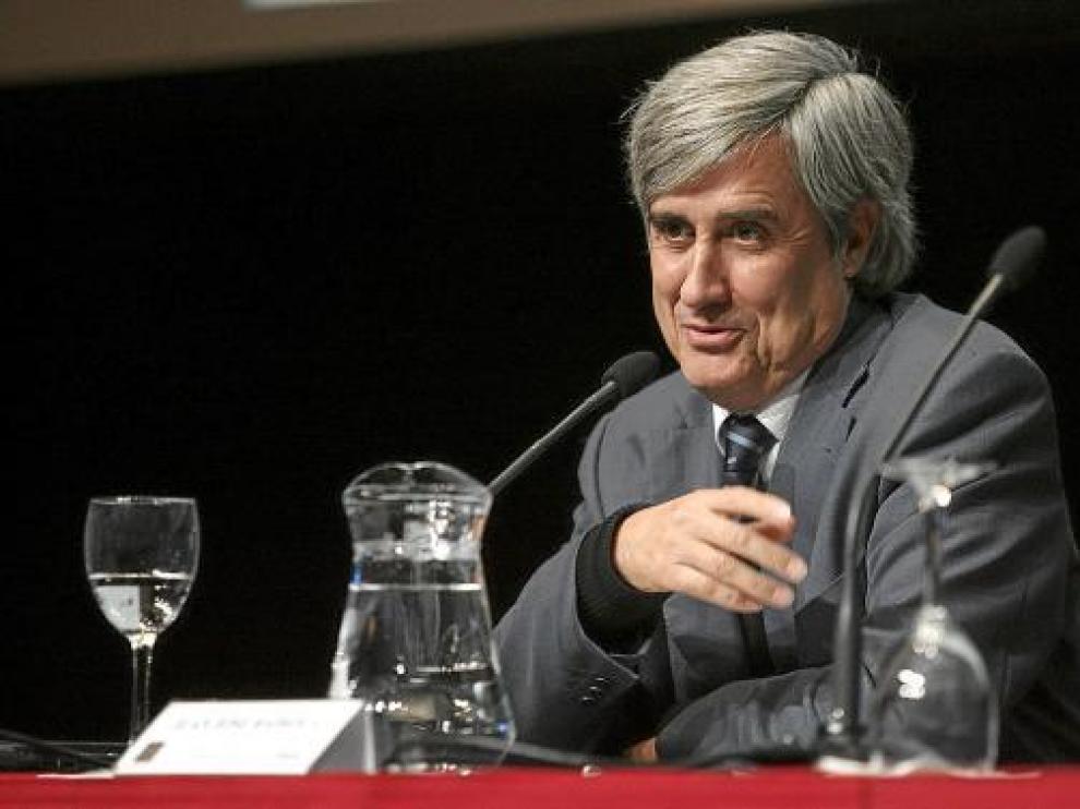 Juan José Badiola, ayer, durante su intervención en la clausura del congreso sobre las plagas.
