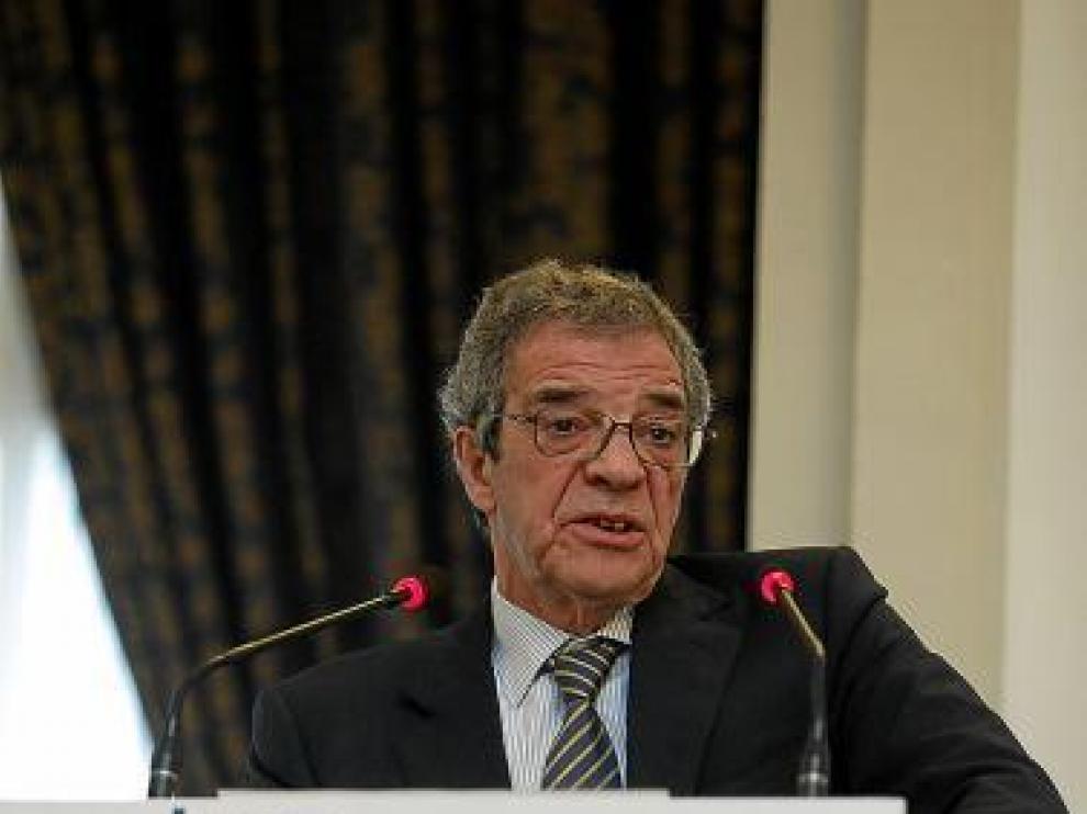 César Alierta, durante su intervención.