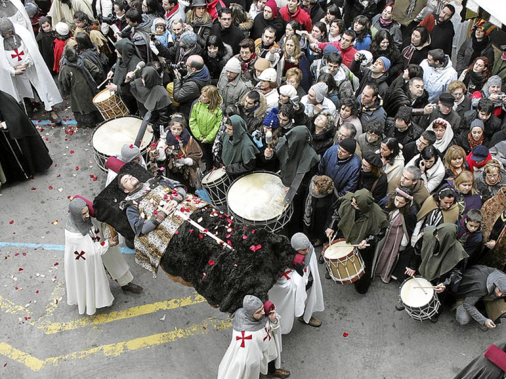 La fiesta de los Amantes celebrada el año pasado registró una gran afluencia de público