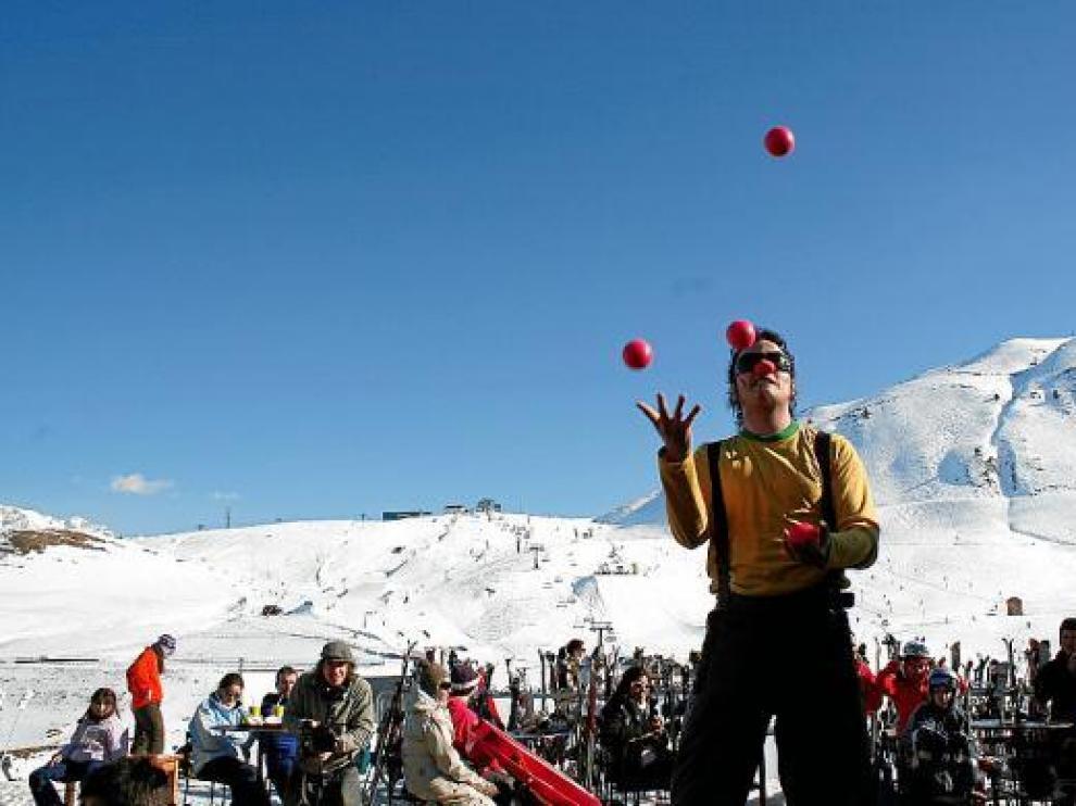Gran afluencia a las estaciones de esquí