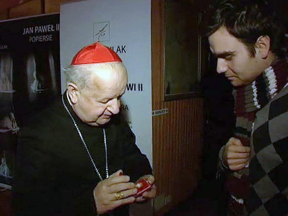 El cardenal polaco Stanislaw Dziwisz le ha enviado la reliquia a su compatriota