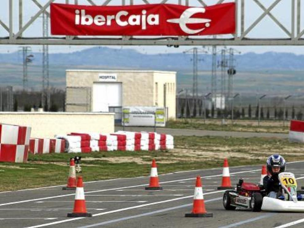 En el Circuito Internacional de Zuera buscan pilotos de karting
