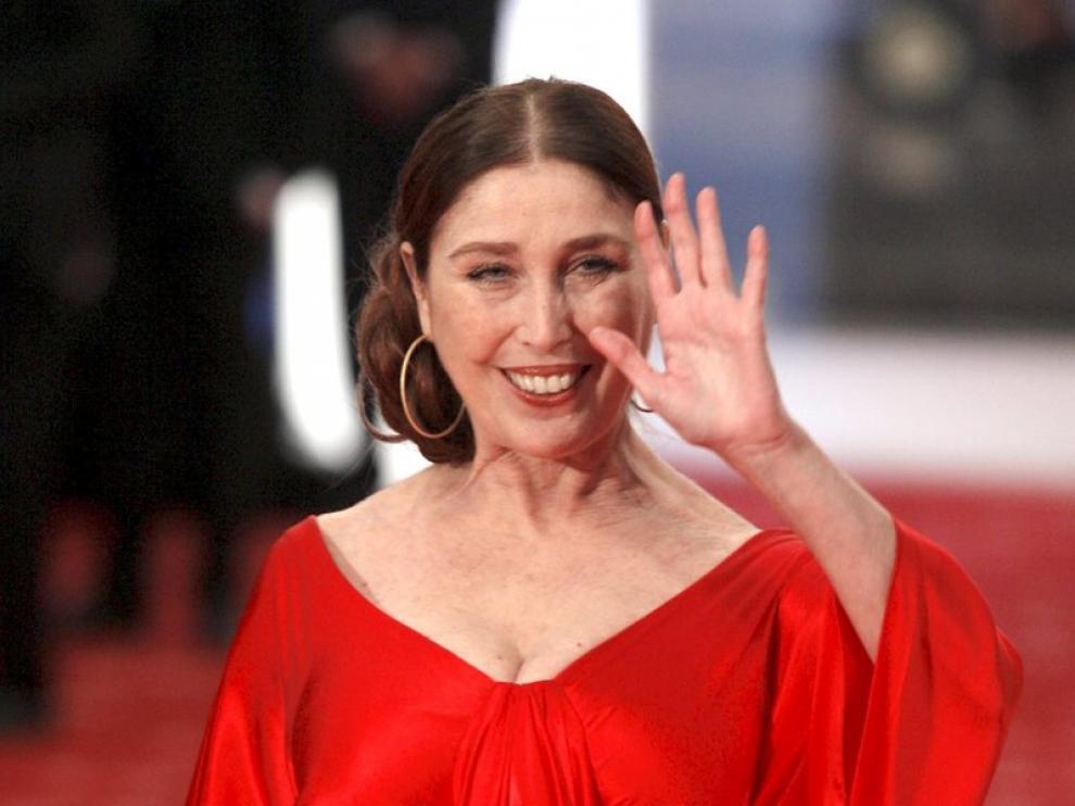 De Rojo, la actriz Verónica Forqué