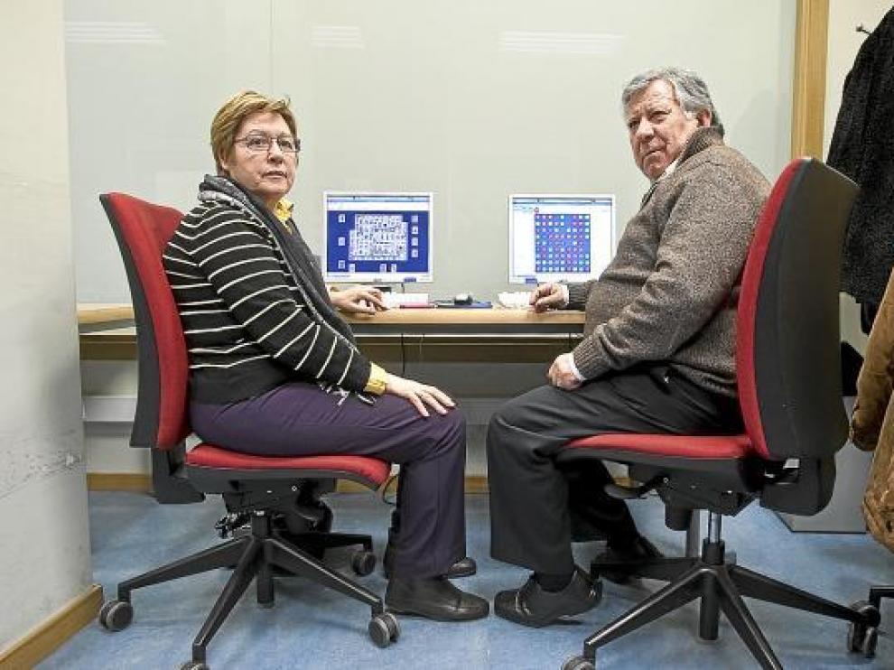 El matrimonio formado por Alejandra Baigorri (65 años) y José Lascuén (67)