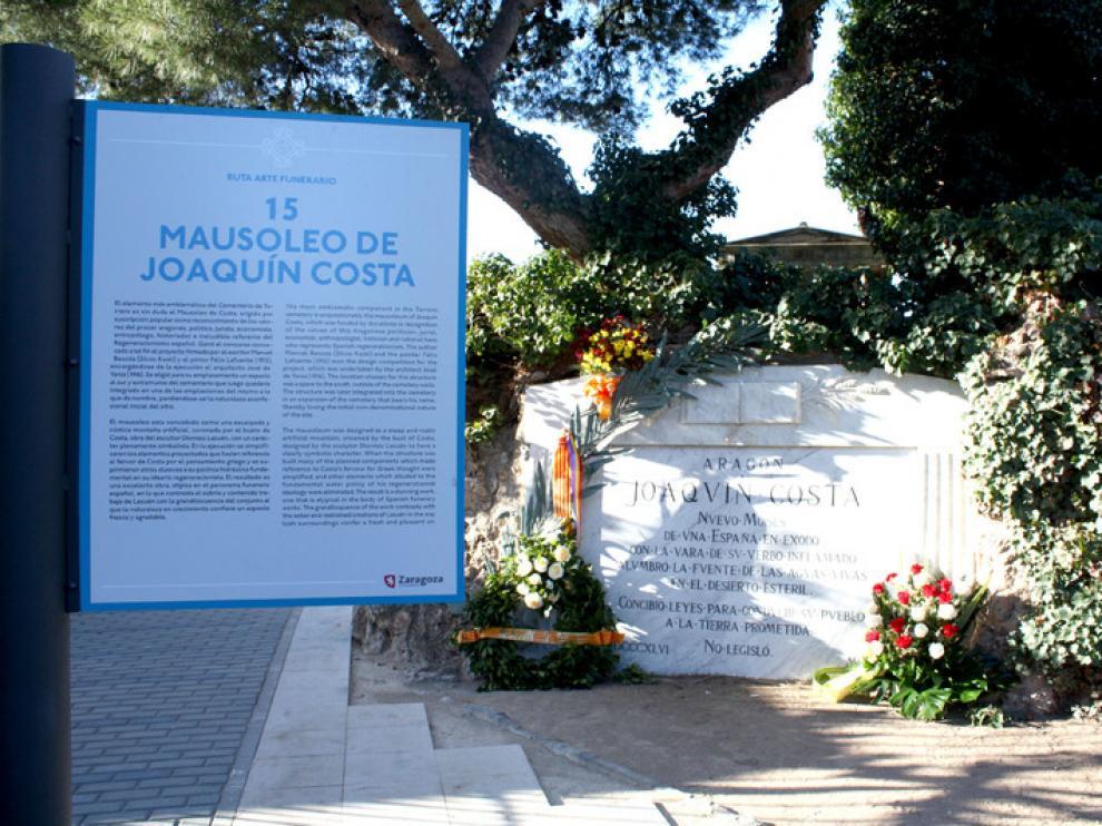 Las 'huellas' de Joaquín Costa