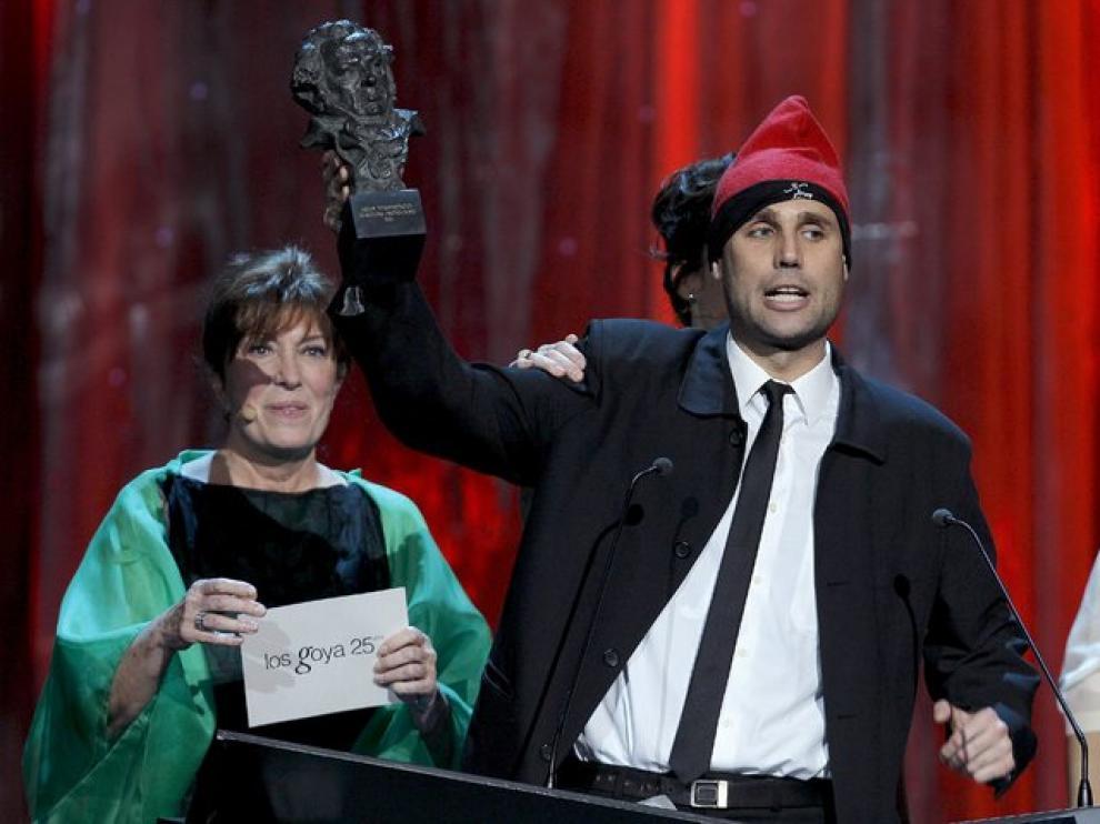 Jimmy Jump se cuela antes de la entrega al premio al mejor actor