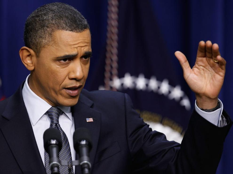 Barack Obama en rueda de prensa