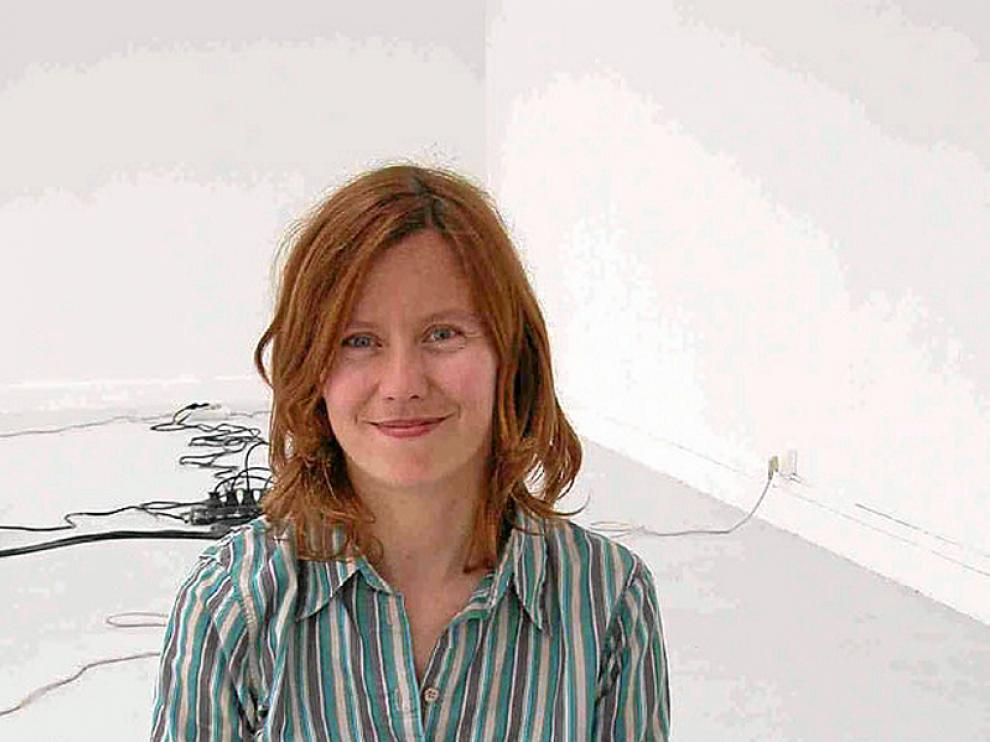 Lara Almárcegui, que reside en Rotterdam, es la artista aragonesa mejor situada en las listas