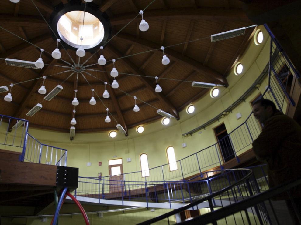 Interior del edificio CIRCE