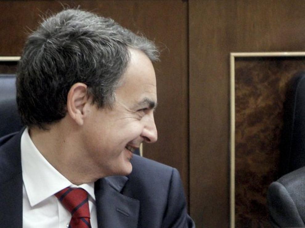 Zapatero y Rubalcaba en la sesión de control al Gobierno