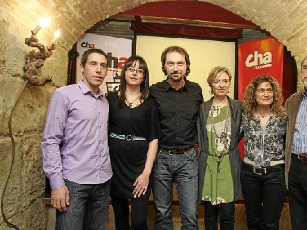 Cremades, Blasco, Gállego, Ibeas, Monterrubio y Esteban.