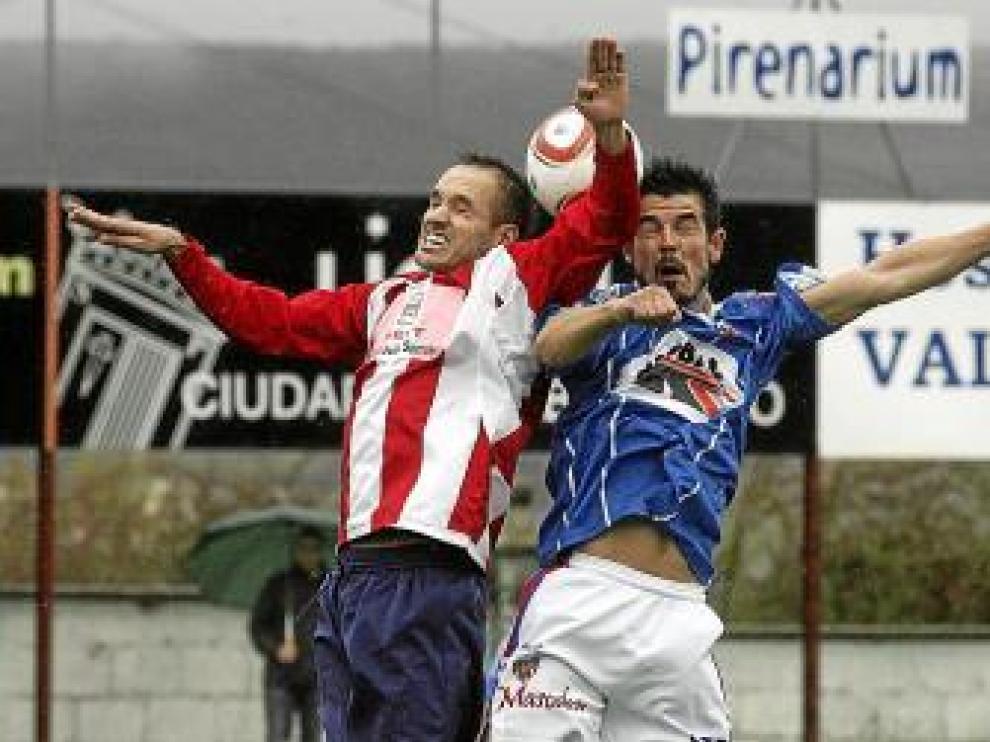 Sabiñánigo y Monzón empataron (0-0) en la primera vuelta.