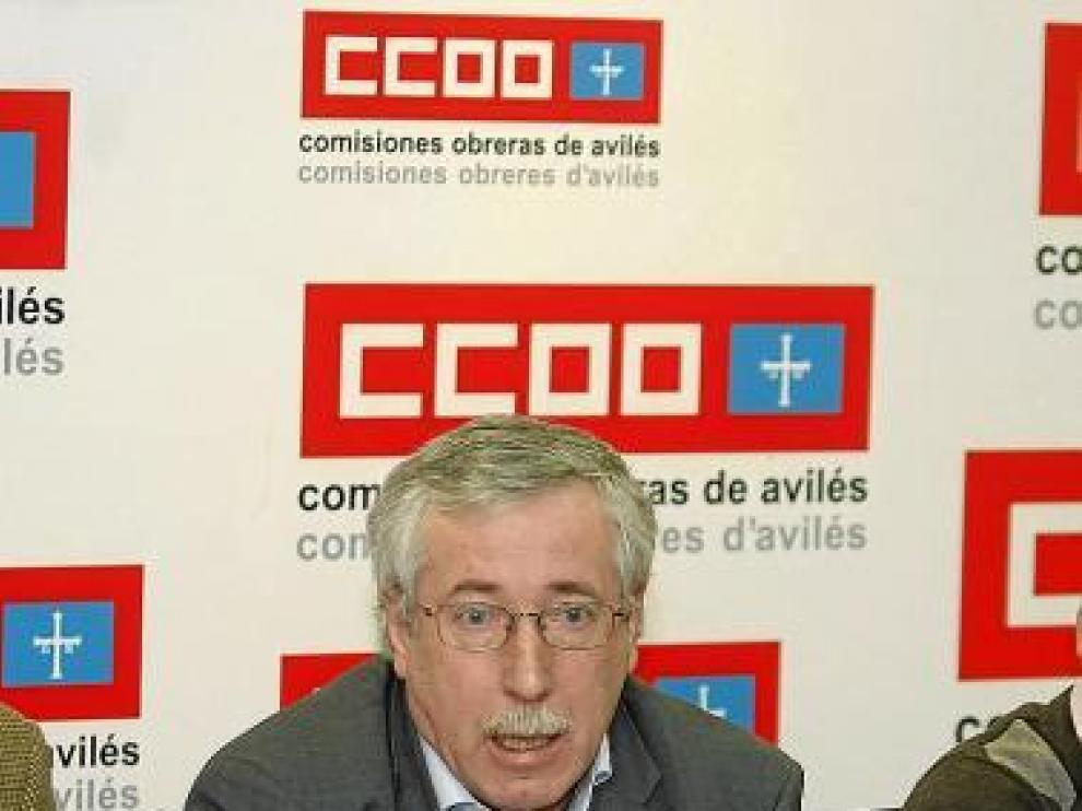 Ignacio Fernández Toxo, secretario general de CC. OO.