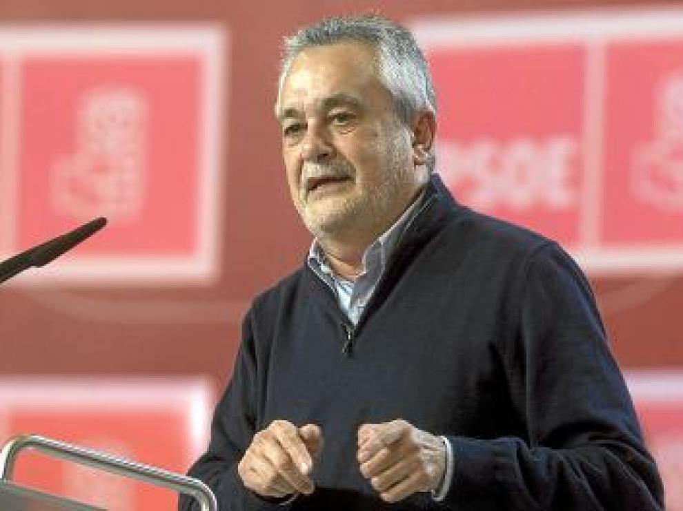 Griñan, durante un acto del PSOE en Sevilla.