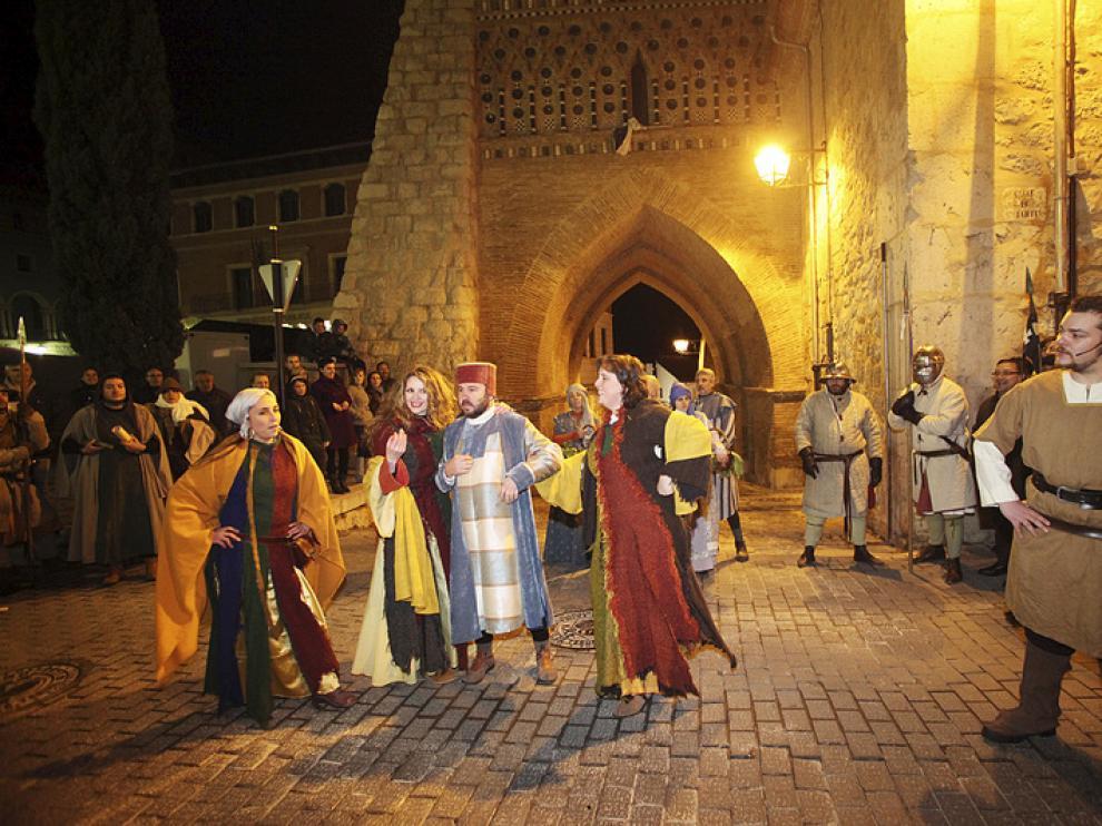 Recreación teatral de Los Amantes de Teruel.