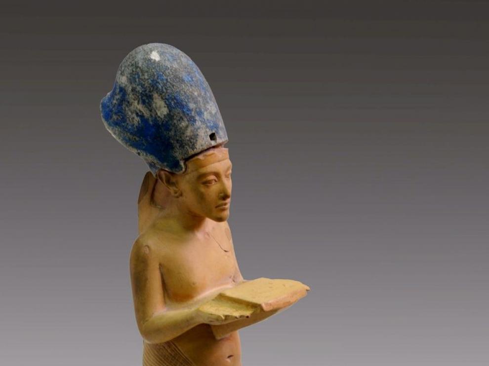 Imagen recuperada en el Museo Egipcio
