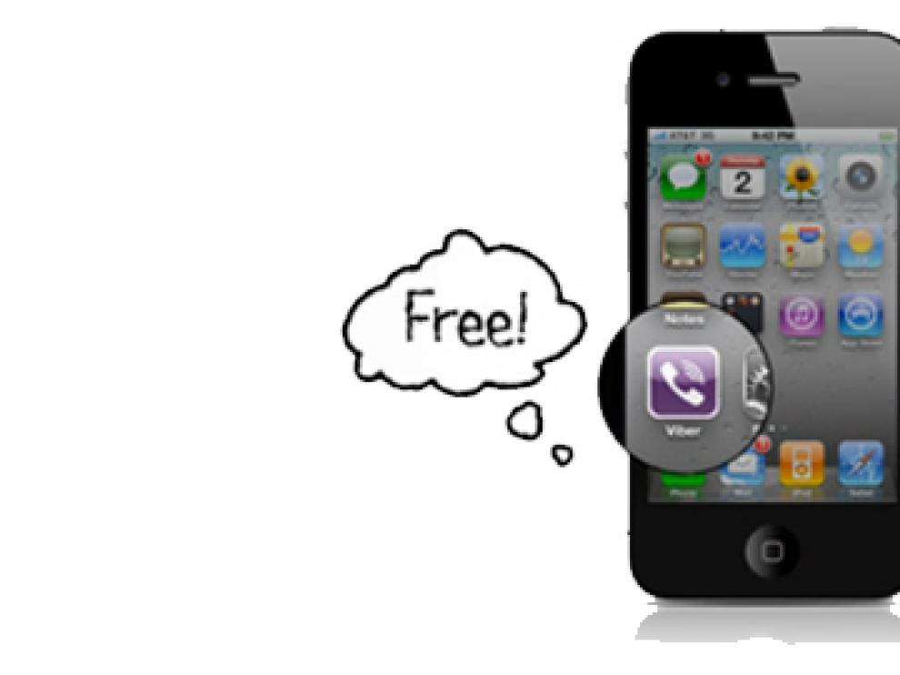 Aplicación Viber para Iphone