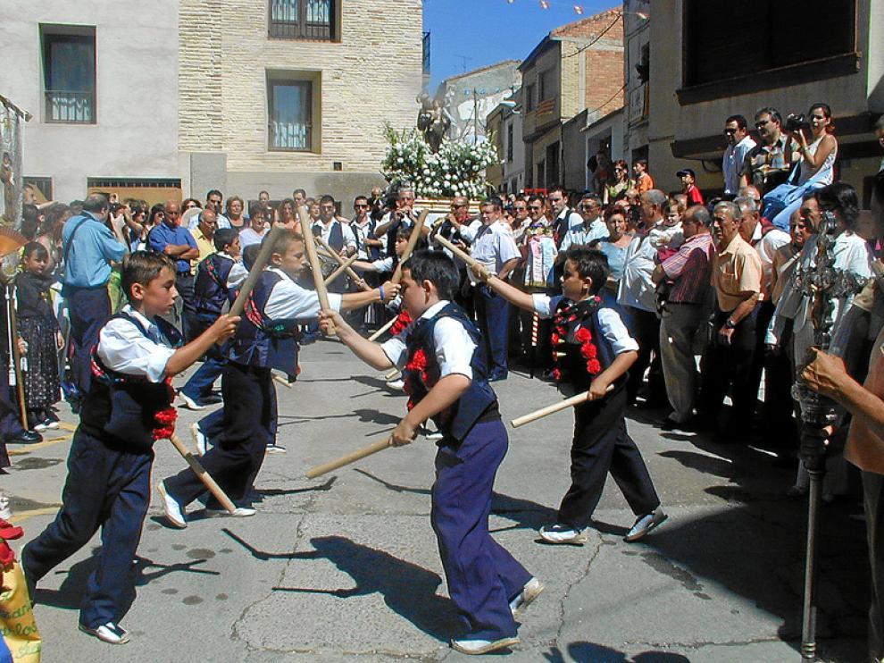Los danzantes infantiles volverán a animar las calles de Gallur el próximo martes