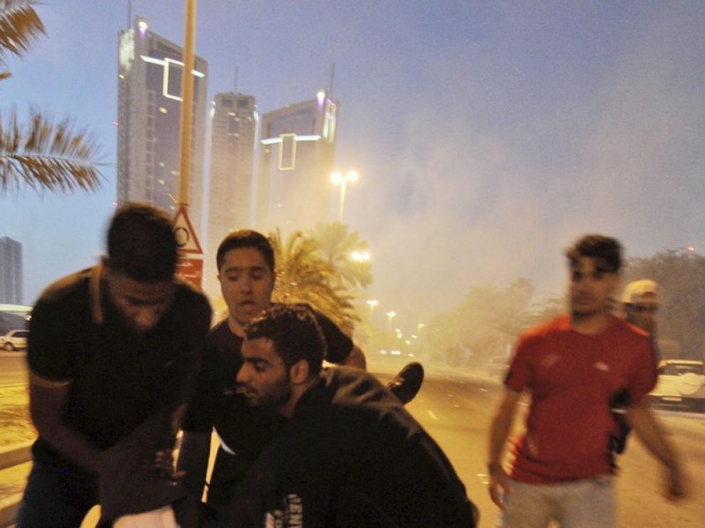 Protestas en Bahréin