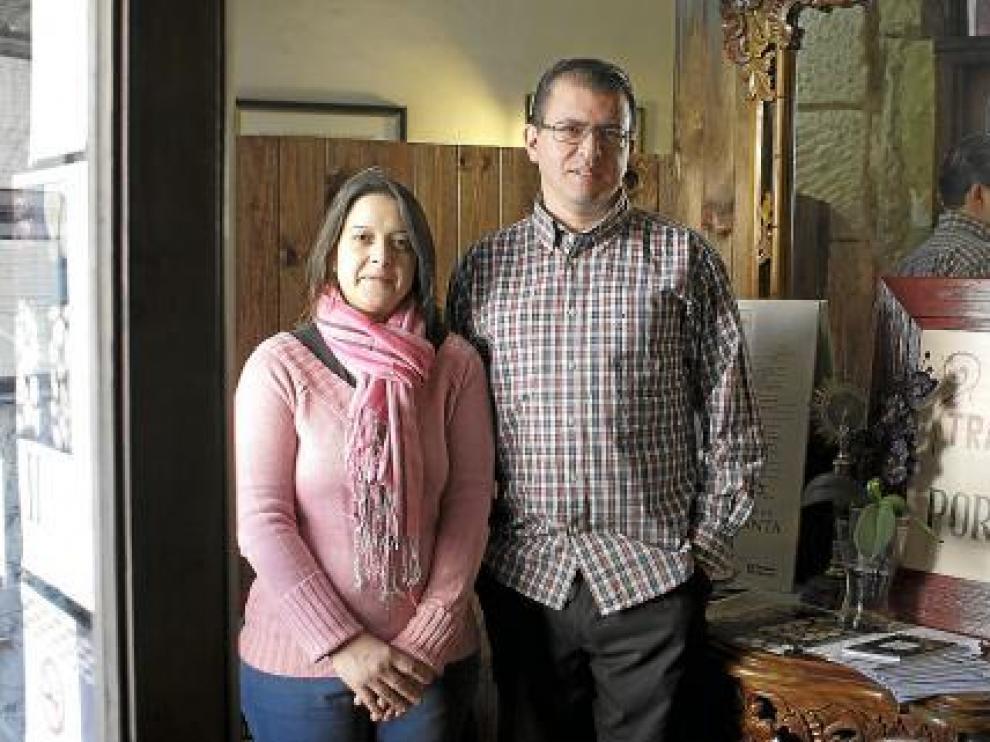 Rosario Palaio y Luis Dias han traído la cocina lusitana hasta Zaragoza.