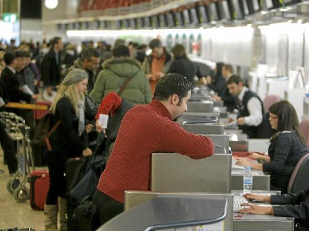 Imagen del aeropuerto de Madrid Barajas