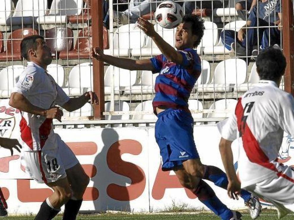 El Rayo Vallecano es el próximo rival de los azulgrana, el domingo en El Alcoraz.