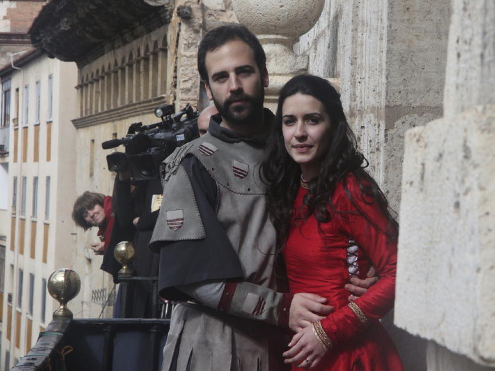 Raquel Vicente (Isabel de Segura) y Gabriel Fuertes (Diego de Marcilla)